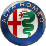 Das Logo des italienischen Autobauers Alfa-Romeo; Neuwagen mit kompetenter Beratung