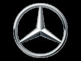 Logo des Fahrzeugherstellers Mercedes; Neuwagen mit kompetenter Beratung